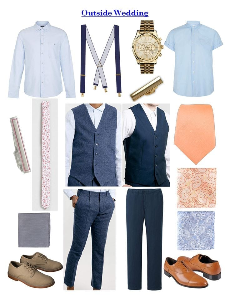1f48f313efdb6d This gives you ideas for a more formal style event but dressing for the  elements of the beach such as Sun