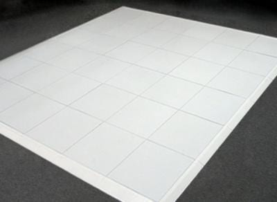 White Dance Floor 12' x 12' (Fits 14) *Estimated Pricing*
