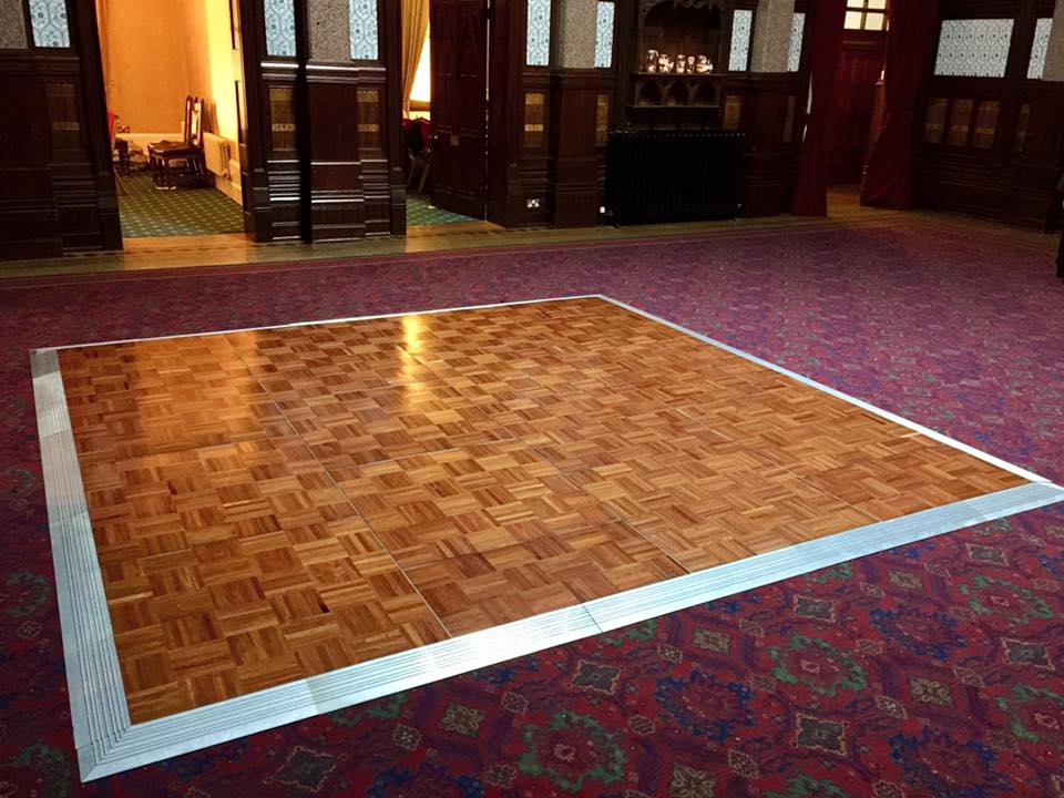 Varnish Dance Floor 12' x 16' (Fits 20) *Estimated Pricing*