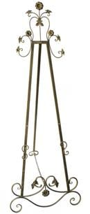 Metal Easel (Gold Adjustable Easel)