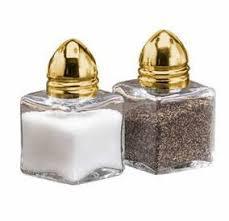 Salt & Pepper Shaker (Gold or Silver)
