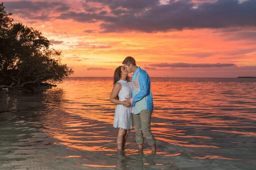 Sunset Wedding Venue at the Hilton Resort Bakers Cay
