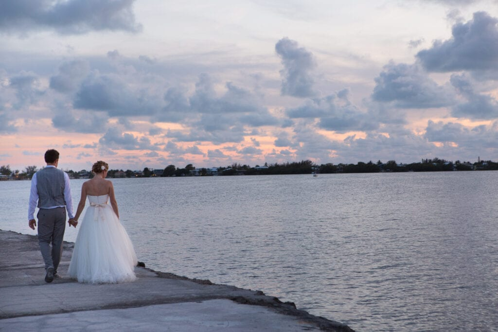 Key Largo Sunset Wedding Venue