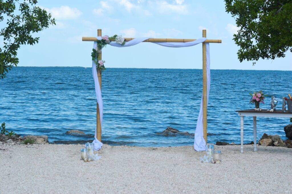 Rowells Parks Florida Keys Wedding