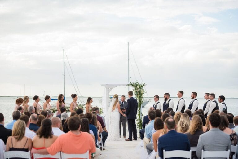 Key Largo Wedding Venue at Dream bay Resort in the Florida Keys
