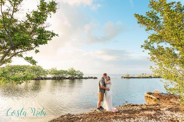 Key Largo Wedding Elopement at Rowells Park