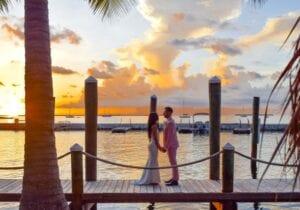 Real Wedding in Key Largo – Erica & Alessandro – Seashell Package