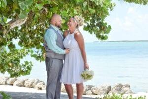 Real Wedding in Key Largo – Bradley & Radwa – Mangrove Package
