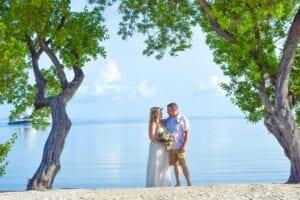 Real Wedding in Islamorada – Ben & Erin – Seashell Package