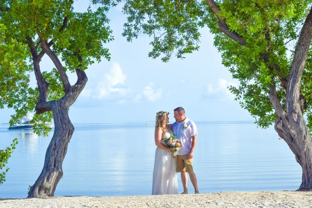 Real Wedding in Islamorada – Ben & Erin – Seashell Package