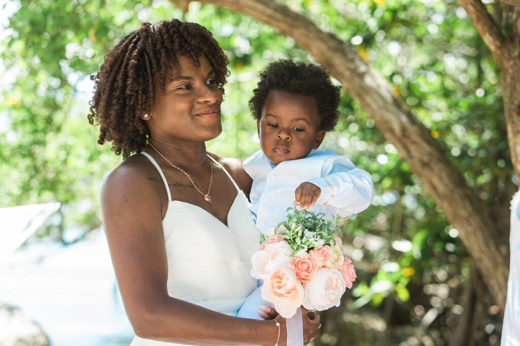Real Wedding at Rowells Park in Key Largo