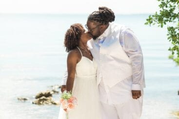 Real Wedding in Key Largo – Dasha & Cortez – Seashell Package