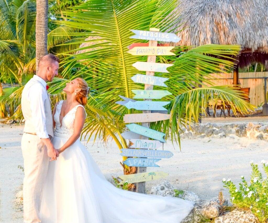 Real Wedding in Key Largo – Zapryanka & Christopher – Hightide Package