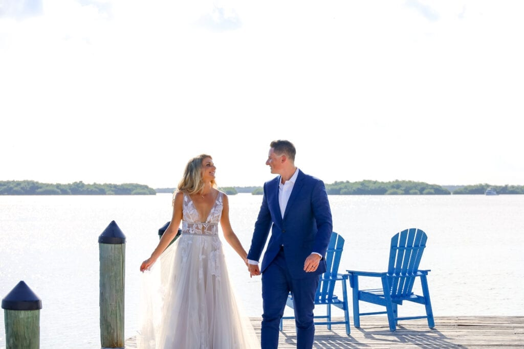 Real Wedding in Islamorada – Emma and Connor