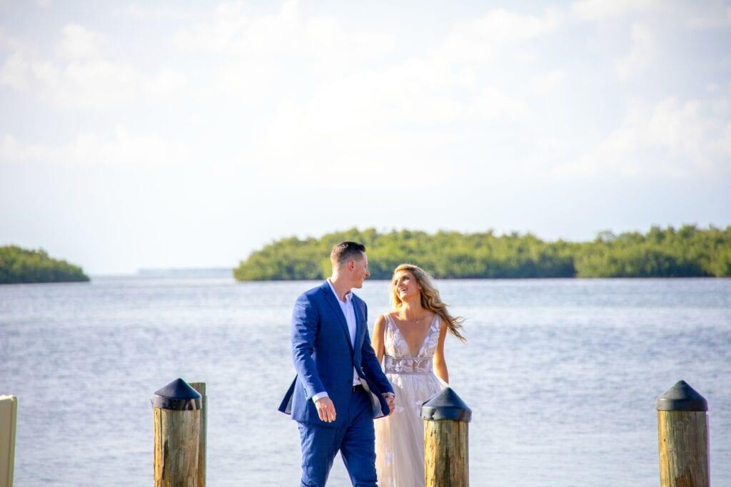 Real Wedding at the Islamorada Fish Company
