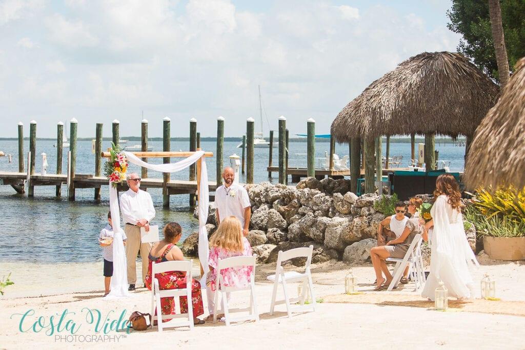 Private Wedding in Key Largo