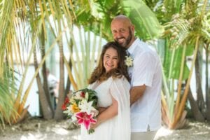 Real Wedding in Key Largo – Lisa and Herman – High Tide Package