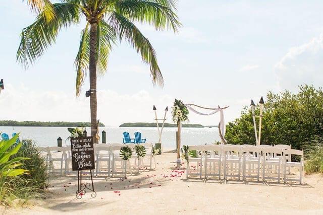 Real Wedding Performed in Islamorada at the Fish Company