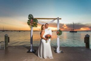 Real Wedding in Key Largo – Laura & Chad – High Tide Package