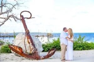 Real Wedding in Islamorada – Seashell Package – Trudy & Josh