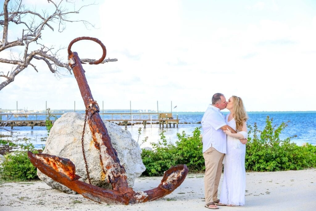 Real Wedding in Islamorada – Seashell Package – Trudy & Josh