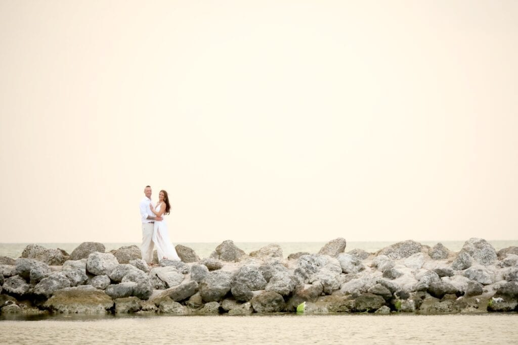 Real Wedding in Key Largo – Melissa and Sean – Seashell Package