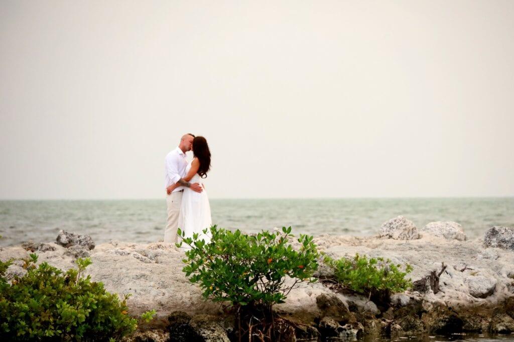 Intimate Wedding at Harry Harry Park in Key Largo, FL