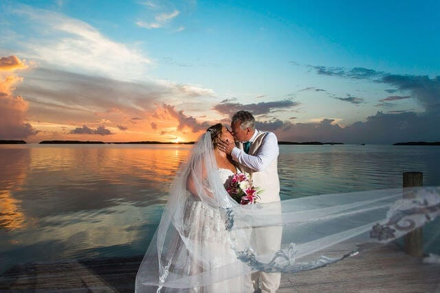 Real Wedding Performed in Islamorada at the Fish Company