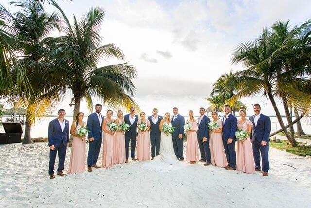 Real Wedding at Largo Resort in Key Largo, FL