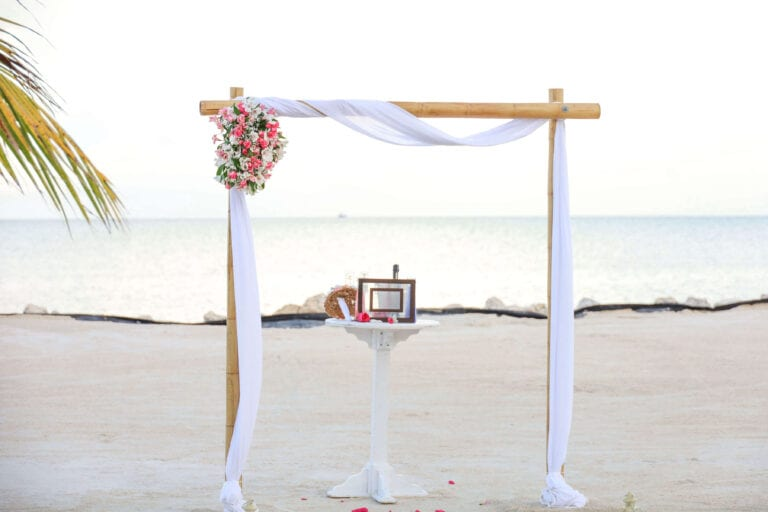 Real Wedding in Islamorada at the Islander Resort