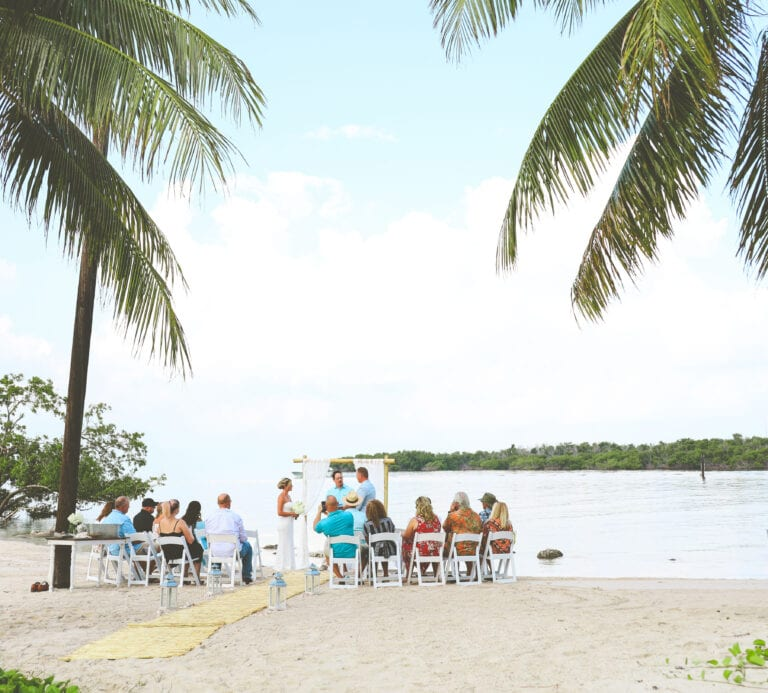 Real Wedding in Marathon Sombrero Beach