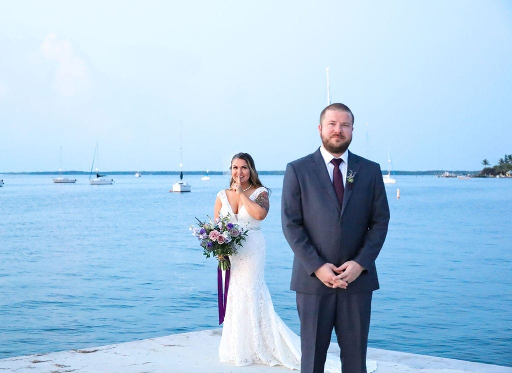 Real Wedding in Key Largo – Leah & Kyle – Seashell Package