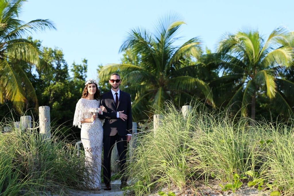 Key West Wedding at Smathers Beach