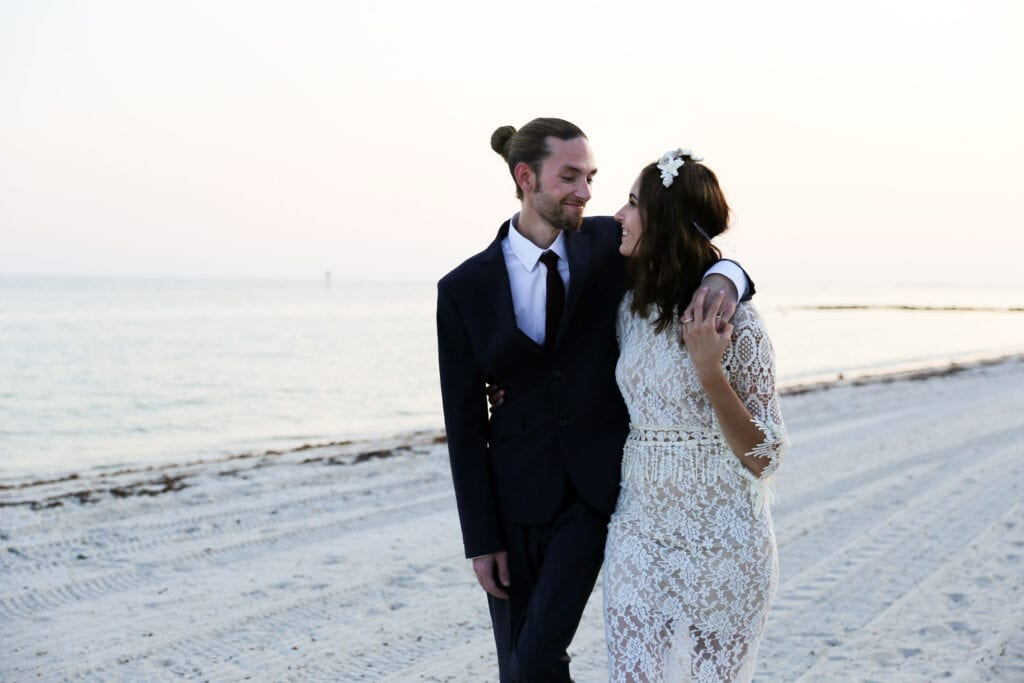 Real Wedding in Key West – Alexandra & Troy – Hightide Package