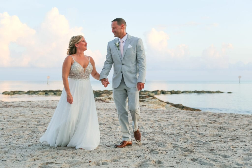 Real Wedding in Key West – Kelly & Edward – Seashell Package