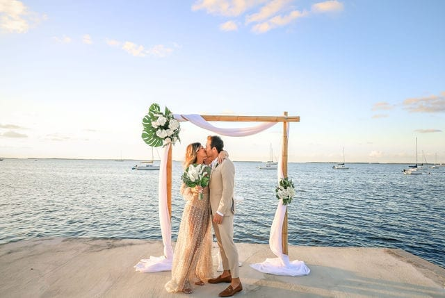 Check Out This Wedding in Key Largo Florida at Dream Bay Resort