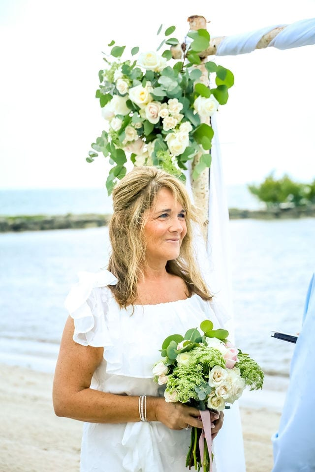 Married on the beach in Key West