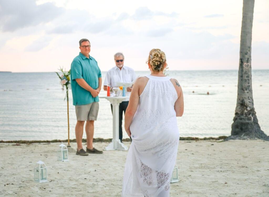 Real Wedding in Islamorada at Founders Park