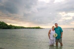 Real Wedding in Islamorada – Mangrove Package – Amanda & Paul