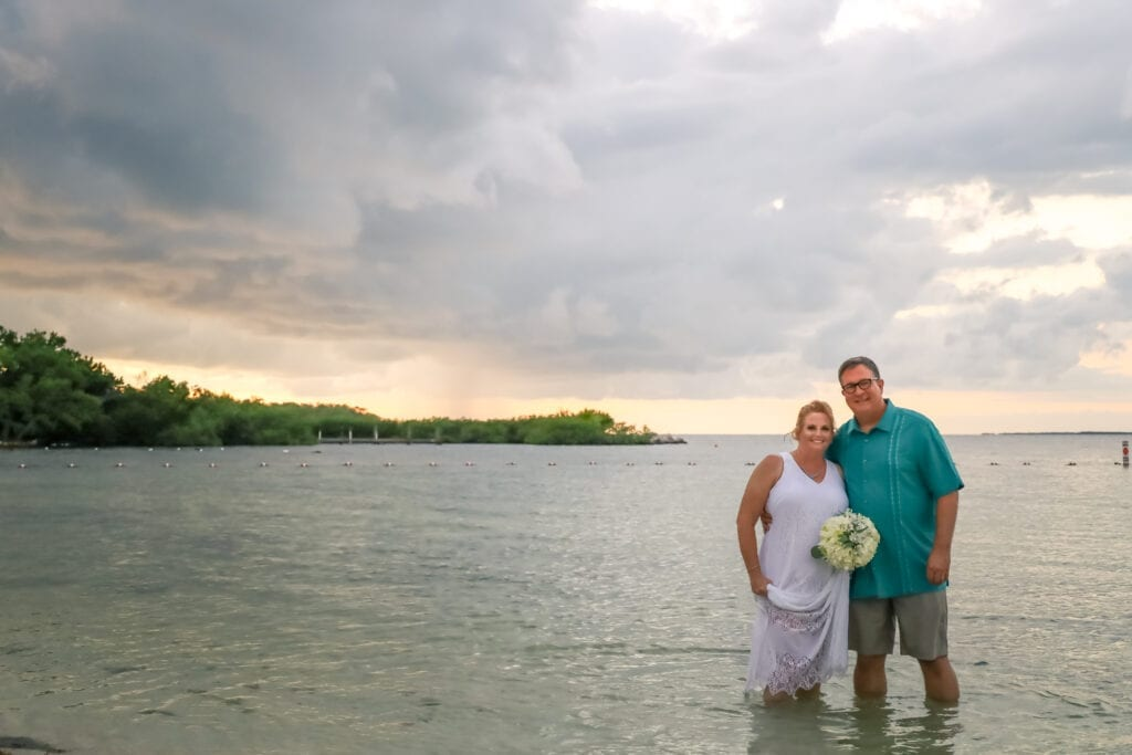 Real Wedding in Islamorada – Mangrove Package – Amanda & Paul