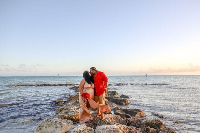 Real Wedding in Key West, FL – Latrica & Bryant – Mangrove Package