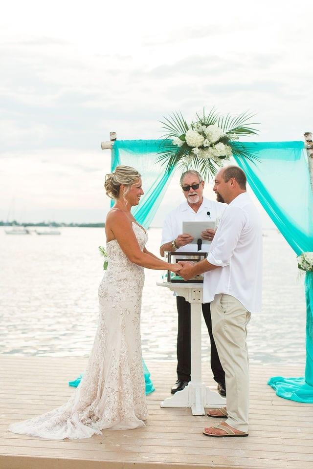 Real Wedding at Bayside Inn Key Largo