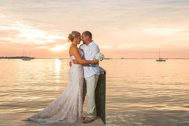 Real Wedding at Bayside Inn Key Largo