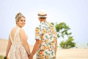 Real Wedding in Marathon, FL – Sara & Kollin – High Tide Package
