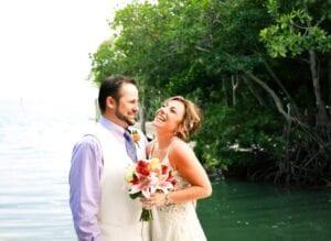 Real Wedding in Islamorada, FL – Jessica & Brandon – Palm Package