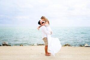 Real Wedding in Islamorada, FL – Ali & Dylan – Flamingo Package