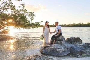 Real Wedding in Marathon, FL – Jessica & Randy – Hightide Package