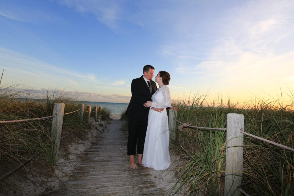 Check Out this real wedding in Key West at Smathers Beach