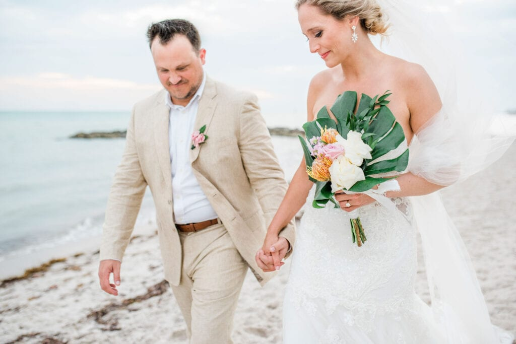 Real Wedding in Key West, FL – Michaela & Tom – Palm Package