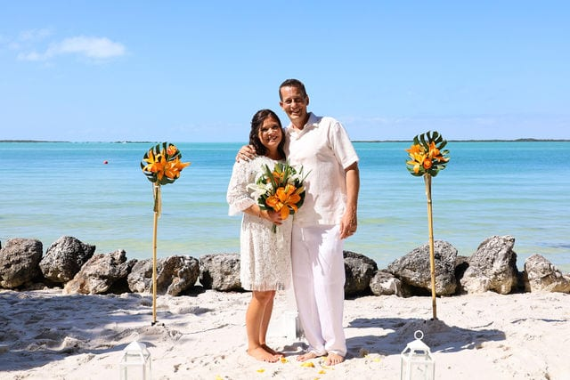 Real Wedding in Key Largo – Amy & James – Mangrove Package